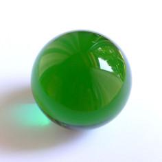 Kristallglaskugel grün
