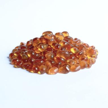 Glaskiesel 8-10mm amber
