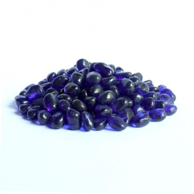 Glaskiesel 8-10mm dunkelblau