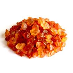 Glassteine 4 - 10 mm bernstein