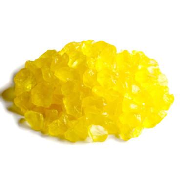 Glassteine 4 - 10 mm gelb