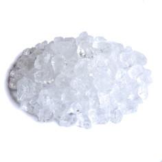 Glassteine 4 - 10 mm klar