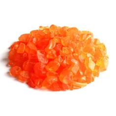 Glassteine 4 - 10 mm orange