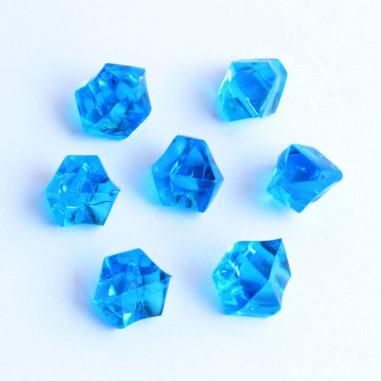 Acrylsteine dunkelblau 10 - 14 mm