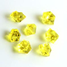 Acrylsteine gelb 10 - 14 mm