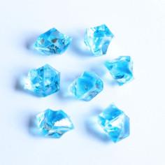 Acrylsteine hellblau 10 - 14 mm