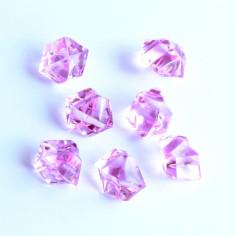 Acrylsteine pink 10 - 14 mm