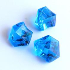 Acrylsteine dunkelblau 16 - 24 mm