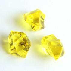 Acrylsteine gelb 16 - 24 mm