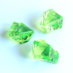 Acrylsteine hellgrün 16 - 24 mm