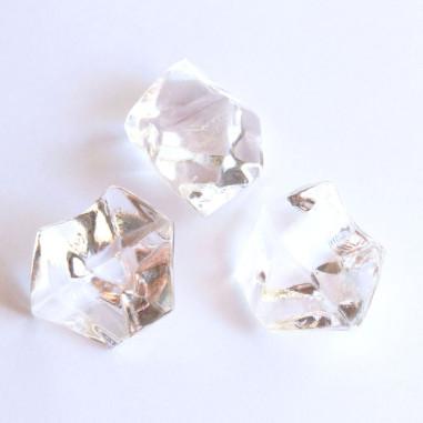 Acrylsteine klar 16 - 24 mm