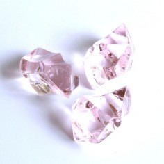 Acrylsteine rosa 16 - 24 mm