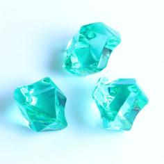 Acrylsteine smaragdgrün 16 - 24 mm