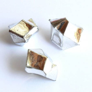 Acrylsteine silber 16 - 24 mm