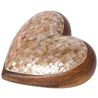 Holz Herz Mosaik